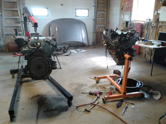 DISCO3 CO UK - View topic - LR3 4 0L Ford V6 - Replace Engine Project